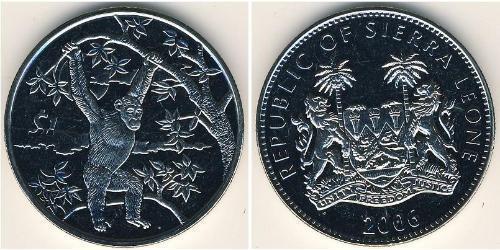 1 Dollar Sierra Leone Copper/Nickel