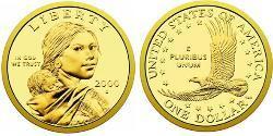 1 Dollar USA (1776 - ) Copper/Zinc