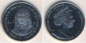 1 Dollar Îles Vierges Cuivre/Nickel Elizabeth II (1926-)