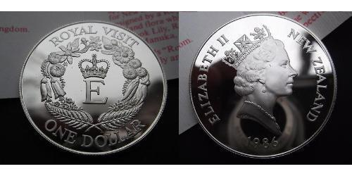 1 Dollar Nouvelle-Zélande Cuivre/Nickel