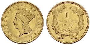 1 Dollar USA (1776 - ) Gold