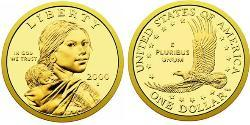 1 Dollar Vereinigten Staaten von Amerika (1776 - ) Kupfer/Zink