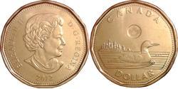 1 Dollar Kanada Messing Elizabeth II (1926-)