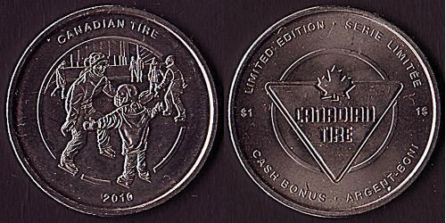 1 Dollar Canada Nickel