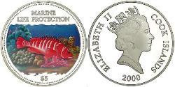 1 Dollar Cookinseln Silber Elizabeth II (1926-)