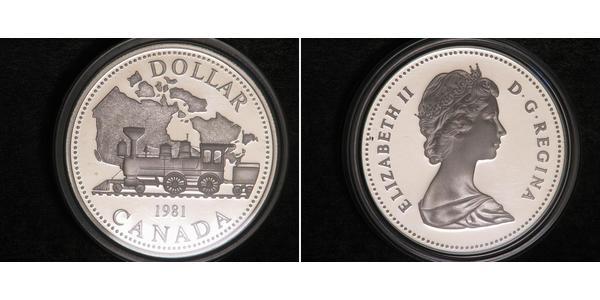 1 Dollar Kanada Silber
