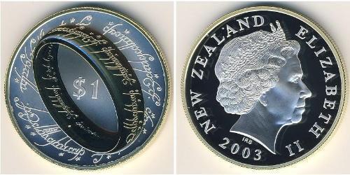 1 Dollar Neuseeland Silber