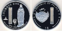 1 Dollar Palau Silber