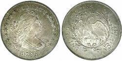 1 Dollar Vereinigten Staaten von Amerika (1776 - ) Silber/Kupfer Anne Willing Bingham (1764-1801)