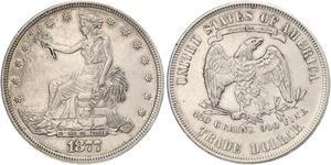 1 Dollar Vereinigten Staaten von Amerika (1776 - ) Silber/Kupfer