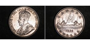 1 Dollar Canada Silver George V of the United Kingdom (1865-1936)