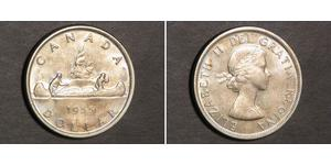 1 Dollar Canada Silver Elizabeth II (1926-)
