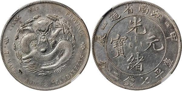 1 Dollar China Silver