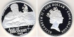 1 Dollar Cook Islands Silver