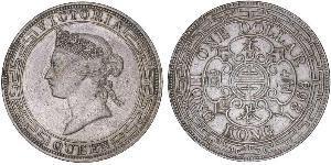1 Dollar Hong Kong Silver Edward VII (1841-1910)