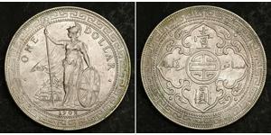 1 Dollar Hong Kong / British Empire (1497 - 1949) Silver