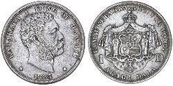 1 Dollar USA (1776 - ) Silver Kalākaua