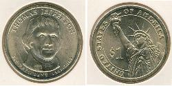 1 Dollar USA (1776 - )  Thomas Jefferson (1743-1826)