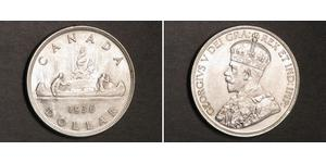 1 Dollaro Canada Argento Giorgio V (1865-1936)
