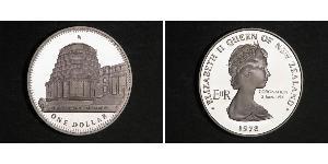 1 Dollaro Nuova Zelanda Rame/Nichel Elisabetta II (1926-)