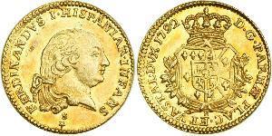 1 Doppia Italian city-states Gold