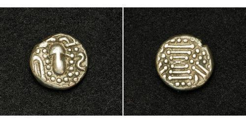 1 Drachm Western Chalukya Empire (973 - 1189) Argent