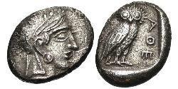 1 Drachm Antigua Grecia (1100BC-330) Plata
