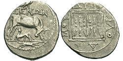 1 Drachm Durrës(Illyrien) Silber