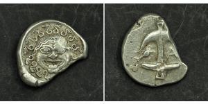 1 Drachm Apollonia (Illyria) Silver
