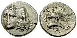 1 Drachma Antigua Grecia (1100BC-330) Plata