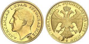 1 Ducat 南斯拉夫王國 (1918 - 1943) 金 亞歷山大一世 (南斯拉夫) (1888 - 1934)