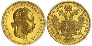 1 Ducat 哈布斯堡君主國 金 弗朗茨·约瑟夫一世 (1830 - 1916)