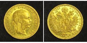 1 Ducat 奥匈帝国 (1867 - 1918) 金 弗朗茨·约瑟夫一世 (1830 - 1916)