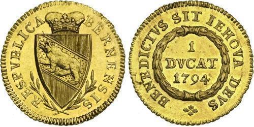 1 Ducat 瑞士 金