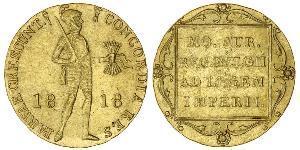 1 Ducat 荷兰王国 金