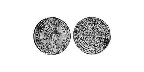 1 Ducat Principality of Ansbach (1398–1792) Copper Joachim Ernst, Margrave of Brandenburg-Ansbach (1583 – 1625)