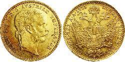1 Ducat Österreich-Ungarn (1867-1918) Gold Franz Joseph I (1830 - 1916)
