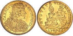 1 Ducat Augsburg (1276 - 1803) Gold Karl VI, Römisch-deutscher Kaiser (1685-1740)
