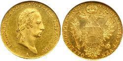 1 Ducat Austrian Empire (1804-1867) Gold Francis II, Holy Roman Emperor (1768 - 1835)