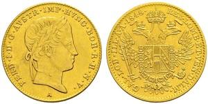 1 Ducat Austrian Empire (1804-1867) Gold Ferdinand I of Austria (1793 - 1875)