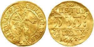 1 Ducat Denmark-Norway (1536-1814) Gold Christian IV of Denmark (1577- 1648)