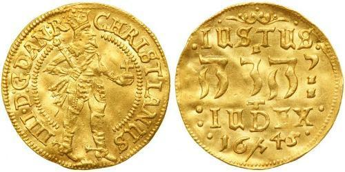 1 Ducat Denmark-Norway (1536-1814) Gold Christian IV of Denmark (1577- 1648)