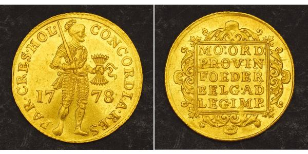 1 Ducat Dutch Republic (1581 - 1795) Gold