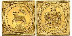 1 Ducat Free Imperial City of Nuremberg (1219 - 1806) Gold