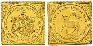 1 Ducat Free Imperial City of Nuremberg (1219 - 1806) Gold