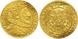 1 Ducat Gdansk  (1454-1793) Gold Sigismund III of Poland