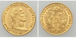 1 Ducat Habsburg Empire (1526-1804) Gold Francis II, Holy Roman Emperor (1768 - 1835)