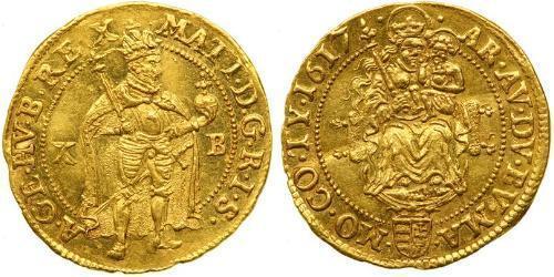 1 Ducat Habsburg Empire (1526-1804) Gold Matthias, Holy Roman Emperor (1557 - 1619)