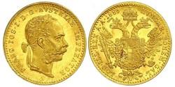 1 Ducat Habsburgermonarchie (1526-1804) Gold Franz Joseph I (1830 - 1916)