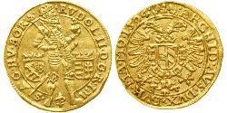 1 Ducat Heiliges Römisches Reich (962-1806) / Österreich Gold Rudolf II. (HRR) (1552 - 1612)